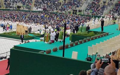 X Congresso Eucaristico Diocesano – Santa Messa di Papa Francesco a Bologna – Stadio Renato Dall'Ara